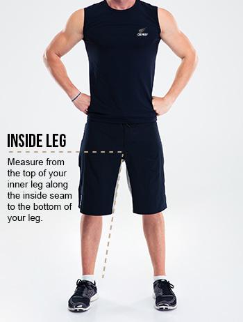Men's Size Chart Track Pant