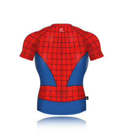 Os Fc Rugby Shirt Spiderman 1000px Back